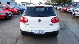 2008 Volkswagen Golf V MY08 Pacific White 6 Speed Manual Hatchback