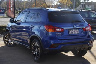 2017 Mitsubishi ASX XC MY17 LS 2WD Blue 6 Speed Constant Variable Wagon