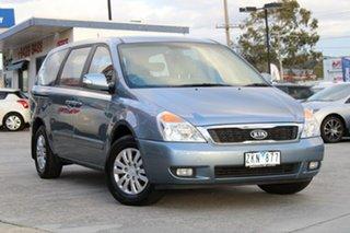 2012 Kia Grand Carnival VQ MY12 S Blue 6 Speed Sports Automatic Wagon.