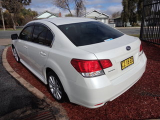 2010 Subaru Liberty MY11 2.5I Premium White Continuous Variable Wagon