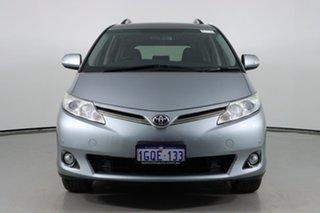 2010 Toyota Tarago ACR50R MY09 GLX Silver 4 Speed Automatic Wagon.