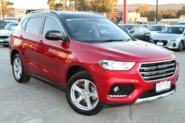 Used Haval H2 MY20 Lux 2WD Ferntree Gully, 2020 Haval H2 MY20 Lux 2WD Red 6 Speed Sports Automatic Wagon