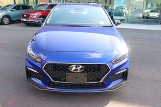 2021 Hyundai i30 PD.V4 MY21 N Line D-CT Intense Blue 7 Speed Sports Automatic Dual Clutch Hatchback.