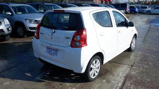 2011 Suzuki Alto GF GL White 5 Speed Manual Hatchback