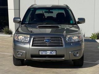 2007 Subaru Forester 79V MY07 XT AWD Grey 5 Speed Manual Wagon.
