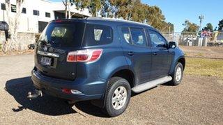 2014 Holden Colorado 7 RG MY14 LT (4x4) Blue 6 Speed Automatic Wagon.