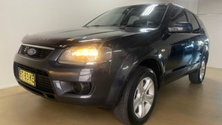 2010 Ford Territory SY MkII TX (RWD) Grey 4 Speed Auto Seq Sportshift Wagon