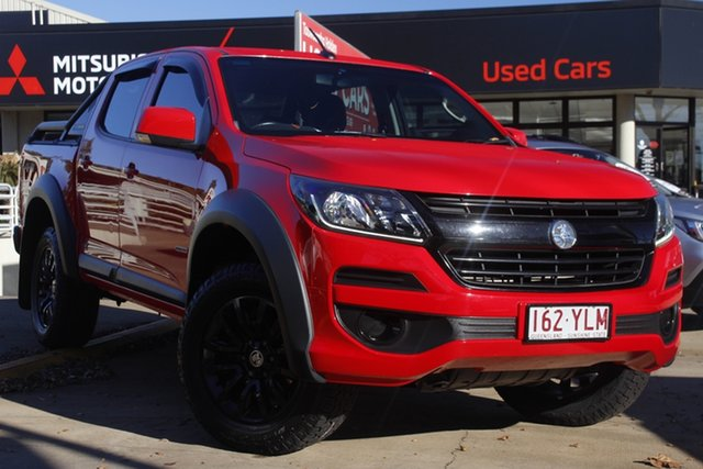 Used Holden Colorado RG MY18 LS Pickup Crew Cab Toowoomba, 2018 Holden Colorado RG MY18 LS Pickup Crew Cab Red 6 Speed Sports Automatic Utility