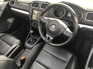 2011 Volkswagen Golf VI MY12 118TSI White 6 Speed Manual Cabriolet