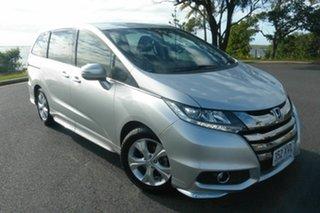 2017 Honda Odyssey RC MY17 VTi Silver 7 Speed Constant Variable Wagon.