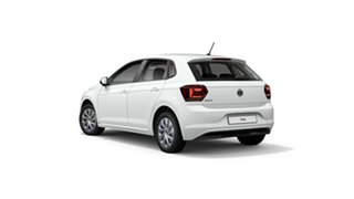 2021 Volkswagen Polo AW Style Pure White 7 Speed Semi Auto Hatchback.