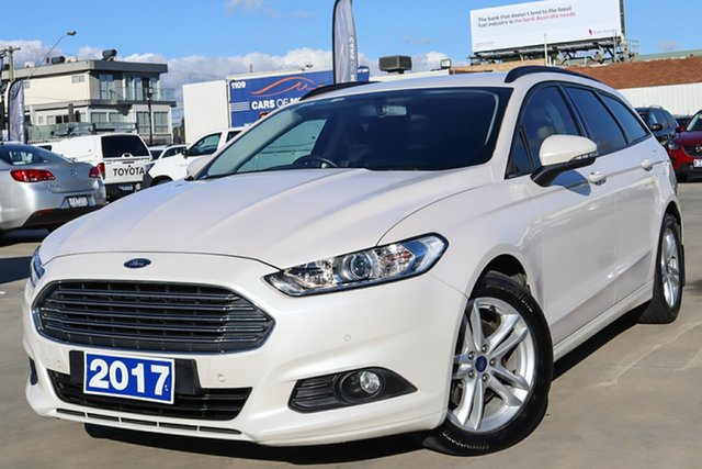 Used Ford Mondeo MD 2017.00MY Ambiente Coburg North, 2017 Ford Mondeo MD 2017.00MY Ambiente White 6 Speed Sports Automatic Dual Clutch Wagon
