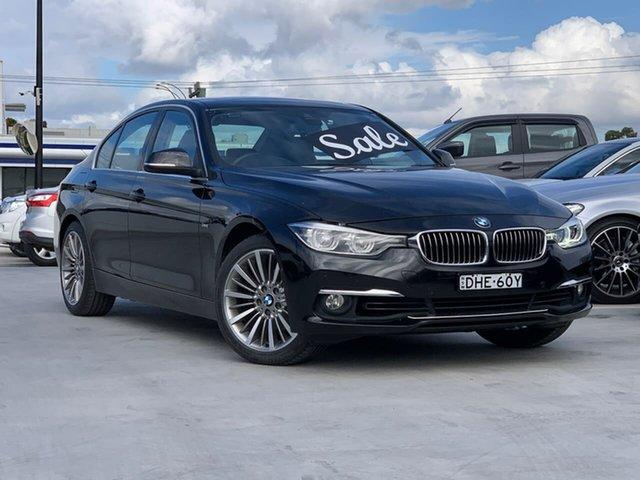 Used BMW 3 Series F30 LCI 318i Luxury Line Liverpool, 2015 BMW 3 Series F30 LCI 318i Luxury Line Black 8 Speed Sports Automatic Sedan