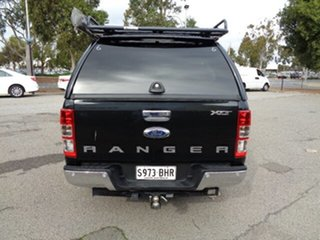 2015 Ford Ranger PX XLT Double Cab Black 6 Speed Sports Automatic Utility