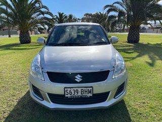 2015 Suzuki Swift FZ MY15 GL Silver 4 Speed Automatic Hatchback.