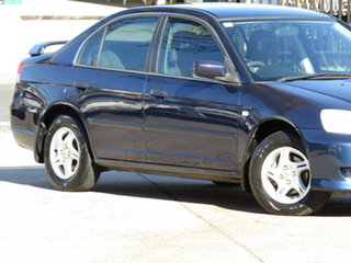 2003 Honda Civic 7th Gen MY2003 GLi Abyss Blue 4 Speed Automatic Sedan.