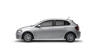 2021 Volkswagen Polo AW Comfortline Reflex Silver 7 Speed Semi Auto Hatchback.