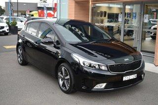 2018 Kia Cerato YD MY18 Sport+ Black 6 Speed Sports Automatic Hatchback.