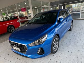 2017 Hyundai i30 GD4 Series 2 Up Active Blue 6 Speed Sports Automatic Hatchback.