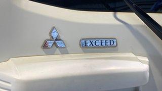 2003 Mitsubishi Pajero NP MY04 Exceed White 5 Speed Sports Automatic Wagon