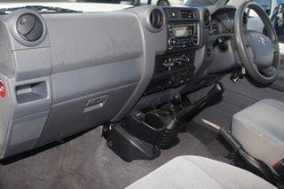 2017 Toyota Landcruiser VDJ78R GXL Troopcarrier White 5 Speed Manual Wagon