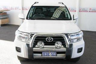 2012 Toyota Landcruiser VDJ200R MY12 GXL (4x4) Glacier White 6 Speed Automatic Wagon.