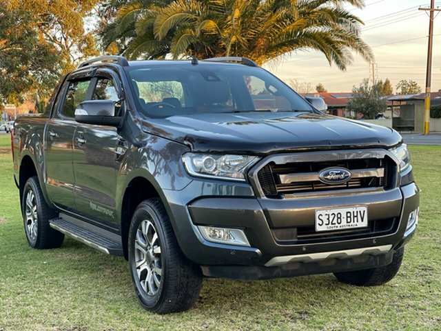 Used Ford Ranger PX MkII Wildtrak Double Cab Cheltenham, 2015 Ford Ranger PX MkII Wildtrak Double Cab Grey 6 Speed Sports Automatic Utility
