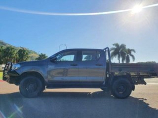 2018 Toyota Hilux GUN126R SR Double Cab Magnetic 6 Speed Sports Automatic Cab Chassis
