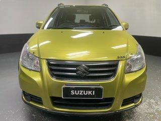 2013 Suzuki SX4 GYA MY13 Crossover Green 6 Speed Manual Hatchback.