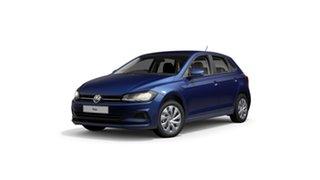 2021 Volkswagen Polo AW Style Reef Blue Metallic 7 Speed Semi Auto Hatchback.