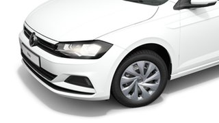 2021 Volkswagen Polo AW Style Pure White 7 Speed Semi Auto Hatchback
