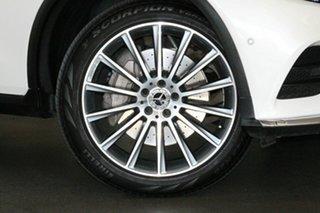 2018 Mercedes-Benz GLC-Class X253 809MY GLC250 d 9G-Tronic 4MATIC White 9 Speed Sports Automatic
