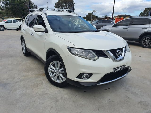 Used Nissan X-Trail T32 ST-L X-tronic 4WD Liverpool, 2017 Nissan X-Trail T32 ST-L X-tronic 4WD White 7 Speed Constant Variable Wagon
