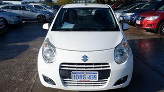 2011 Suzuki Alto GF GL White 5 Speed Manual Hatchback.