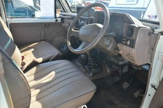 1993 Toyota Landcruiser HZJ75RP (4x4) White 5 Speed Manual 4x4 Cab Chassis