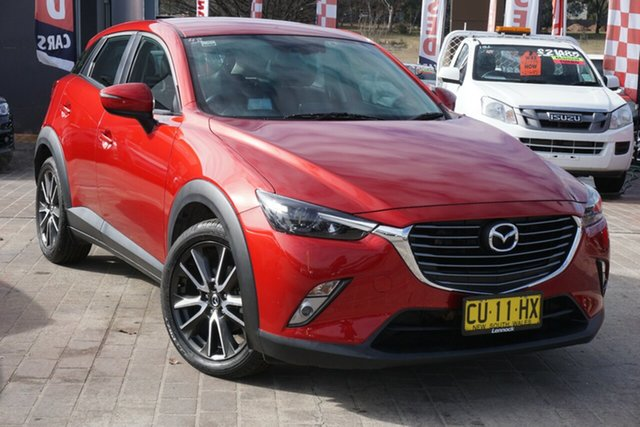 Used Mazda CX-3 DK2W7A sTouring SKYACTIV-Drive Phillip, 2016 Mazda CX-3 DK2W7A sTouring SKYACTIV-Drive Red 6 Speed Sports Automatic Wagon