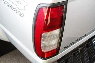 2015 Nissan Navara D22 Series 5 ST-R (4x4) Silver 5 Speed Manual Dual Cab Pick-up
