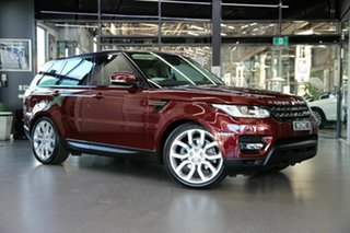 2017 Land Rover Range Rover Sport L494 17MY SE Maroon 8 Speed Sports Automatic Wagon.