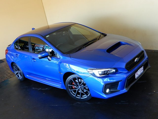 Used Subaru WRX MY17 (AWD) Toowoomba, 2017 Subaru WRX MY17 (AWD) Blue Continuous Variable Sedan