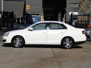 2007 Volkswagen Jetta 1KM MY07 FSI Tiptronic Alaska White 6 Speed Sports Automatic Sedan