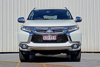 2017 Mitsubishi Pajero Sport QE MY17 GLS White 8 Speed Sports Automatic Wagon.