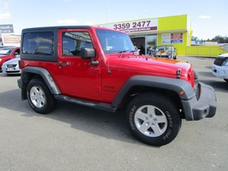 2013 Jeep Wrangler JK MY2013 Sport Red 5 Speed Automatic Softtop.