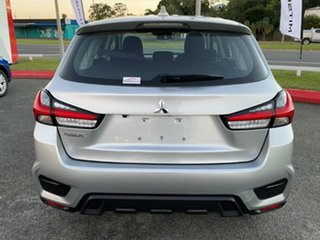 2019 Mitsubishi ASX XD MY20 ES 2WD Sterling Silver 1 Speed Constant Variable Wagon