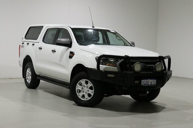 Used Ford Ranger PX MkII XLS 3.2 (4x4) Bentley, 2016 Ford Ranger PX MkII XLS 3.2 (4x4) White 6 Speed Automatic Double Cab Pick Up