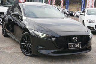2019 Mazda 3 BP2SL6 G25 SKYACTIV-MT Astina Black 6 Speed Manual Sedan.