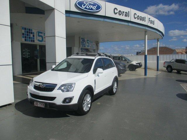 Used Holden Captiva CG MY15 5 LT (FWD) Bundaberg, 2015 Holden Captiva CG MY15 5 LT (FWD) White 6 Speed Automatic Wagon