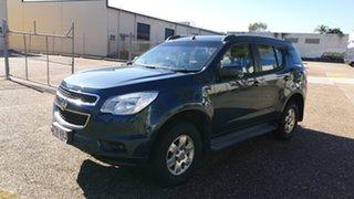 2014 Holden Colorado 7 RG MY14 LT (4x4) Blue 6 Speed Automatic Wagon