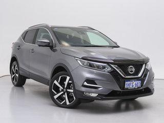 2021 Nissan Qashqai MY20 TI Grey Continuous Variable Wagon.