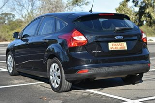 2012 Ford Focus LW Ambiente PwrShift Black 6 Speed Sports Automatic Dual Clutch Hatchback