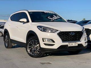 2019 Hyundai Tucson TL4 MY20 Active X 2WD White 6 Speed Automatic Wagon.